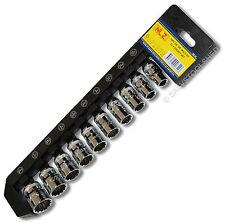 "3/8"" Multifit Socket Set Fits MM SAE Torx Whitworth Hex"