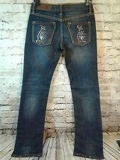 New With Tag Christian Audigier Woman's Jeans Size 27 X 34 LONG