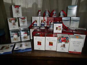 Hutschenreuther, Weihnachtsglocken, Sammlung, 35 Stück