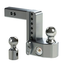 """Weigh Safe WS6-2 Adjustable Ball Mount 6"""" Drop Hitch w/ Scale & 2"""" Shaft"""