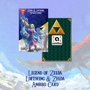 Amiibo Legend of Zelda Skyward Sword Loftwing Card