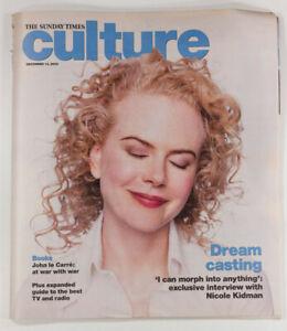 Nicole Kidman interview John Le Carre The Sunday Times Culture magazine Dec 2003