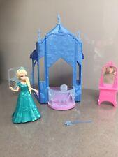 Disney Magic Clip Princess Frozen Elsa Castle Set Dress Mattel Flip & Switch