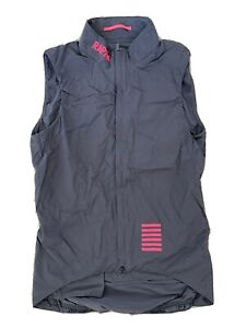Rapha Pro Team Insulated Gilet Grey/Pink (Men's Small)