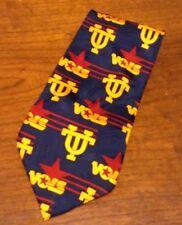Men's Whyknot Neckwear University Of Tennessee Volunteers 100% Silk Tie