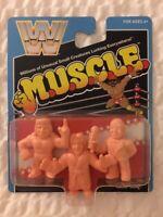 M.U.S.C.L.E. WWF WWE Mattel Retro Figures Flair Sheik Mean Gene MOC Super7 SDCC
