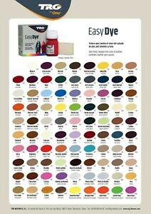TRG Easy Dye Leather Dye Kit Color Dye Leather Vinyl & Canvas Repair Shoes Boots