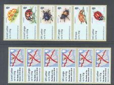 Jersey-Post &Go Sept 2016 - Beetles & Somme( overprint) mnh-Insects-Military