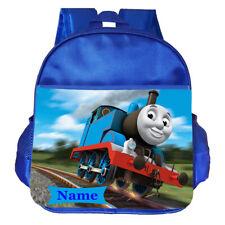 Thomas Train Personalised Customised Kids Toddler School Nursery Bag Backpack