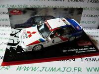 HU4D 1/43 IXO altaya Rallye Monte Carlo MITSUBISHI Galant VR 4 1991 Salonen