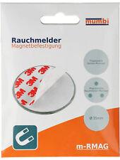mumbi 6x Magnetbefestigung Mini Magnethalterung Magnet Halterung für Rauchmelder