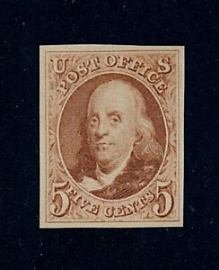 drbobstamps US Scott #3 Mint No Gum as Issued XF Centered Sound Scarce Stamp