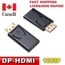 Display Port Male DP to HDMI Female cable Converter Adapter, PC Laptop Macbook