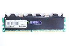Mushkin DDR2 2GB XP2-5300 Dual Pack (2x1GB) RAM Memory (1 Stick/2GB Total)