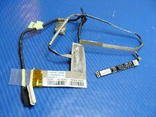 """Asus 16"""" N61Vg Genuine LCD LVDS Video Cable w/Mic WebCam 1422-00L90AS GLP*"""