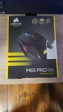 Corsair Gaming M65 PRO RGB Maus, optisch, 12000dpi, USB, 8 Tasten, schwarz