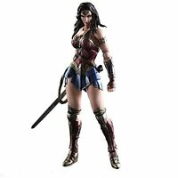 Square Enix PLAY ARTS Kai Batman v Superman Dawn of Justice wonder woman Figure