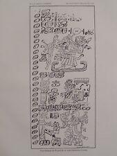 Maya Dresden Codex Yearbearer Creator Deity Itzamna Death God Kimil 1882