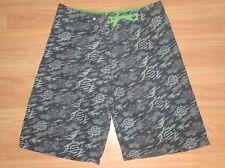 shorts surf trunks santa cruz skateboard surf black  size L