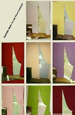 """BNIP Soft Voile Slot Top Curtain Panel Many Colours Width 54"""""""