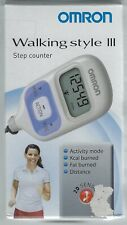 OMRON Walking Style III - Step Counter - Pedometer - Activity Tracker - NEW
