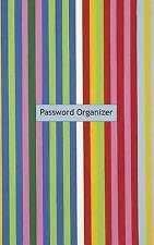 Password Organizer: A Password Organizer Journal (colorful stripe cover) (Gettin