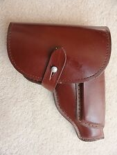Original East German PPK holster(.32 caliber)- Leather made surplus