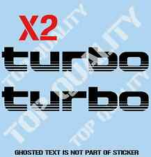 TURBO REPLACEMENT DECAL STICKER TO SUIT TOYOTA LANDCRUISER 4X4 DECALS STICKERS