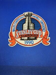 1990 Stanley Cup Finals Patch