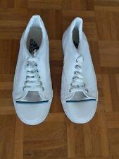 Adidas white lace-up shoes UK size 9