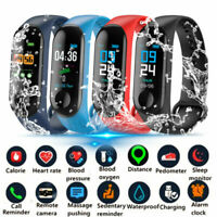 M3 IP68 Waterproof Sport BT4.0 Smart Watch Activity Tracker Wrist Band Bracelet