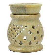 LAMPADA in pietra ollare - portacandela e diffusore di olio essenziale - (O5x)