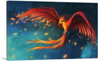 ARTCANVAS Finest Phoenix Canvas Art Print
