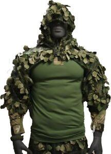 """Disguise Sniper Coat / Viper Hood """"Chimera"""" cape shortened A-TACS FG, XS-XL"""
