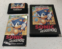 Sonic The Hedgehog (Sega Genesis) Complete Tested Authentic