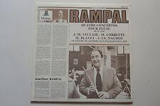 LP ERATO J.P RAMPAL 4 Concertos Flute 18e LECLAIR CORRETTE BLAVET NAUDOT MINT