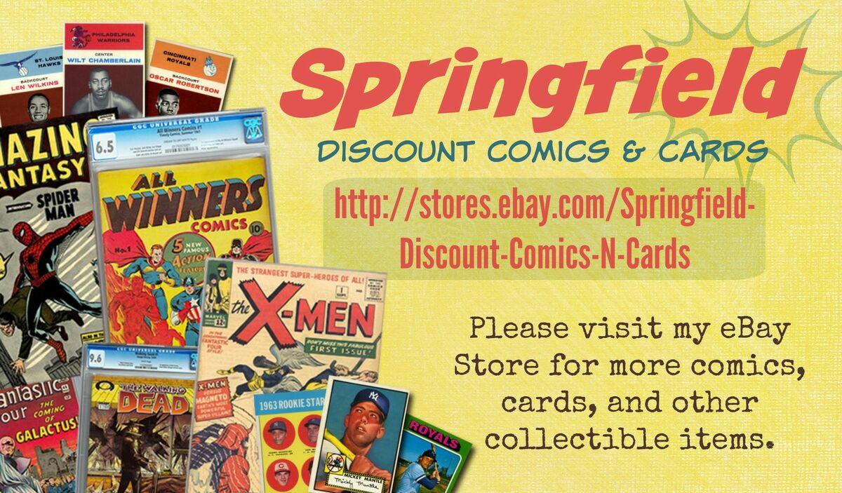 Springfield Discount Comics N Cards