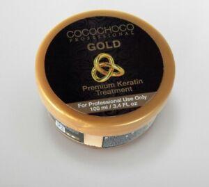 Cocochoco Gold 24K Brazilian Keratin Straightening Treatment (100ml)