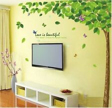 9011 | Wall Stickers Bestselling Green Leaves Tree
