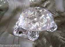 Swarovski Crystal Large Turtle - Part of Endangered Species Group - Retired