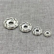 10pcs of 925 Sterling Silver Tire Spacer Beads 6mm 8mm 10mm 12mm for Bracelet