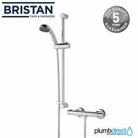 Bristan ZI SHXSMCT C Zing Thermostatic Cool Touch Bar Mixer Shower