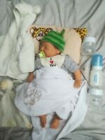 Orig.Reborn Lebensechte Baby-Puppe,Elisa Marx