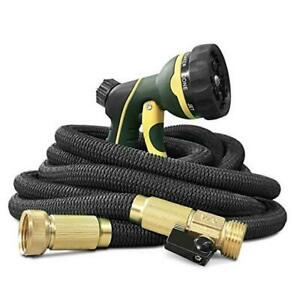 Garden Hose Flexible and Expandable - Collapsible Water Hose with Solid 25FT