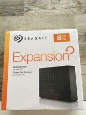 Seagate Expansion 8tb New In Box External Hd