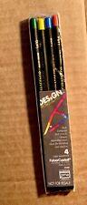 New listing Retro Faber Castell Design Spectracolor Pencils 4 Pack Nib - still sealed