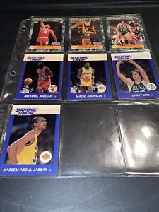 1988 Starting LineUp / Card Lot Of 7 Rare Mint Legend Collection Michael Jordan