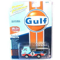 JOHNNY LIGHTNING JLCP7124 DODGE A-100 PICK UP TRUCK 1/64 DIECAST GULF OIL #6