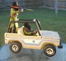"1/6 scale Custom Somali Rebels in ""Technical"" Vehicle with RPG"