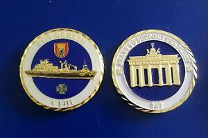 """Coin Bundeswehr Deutsche Marine """" Einsatzgruppenversorger Berlin"""""""